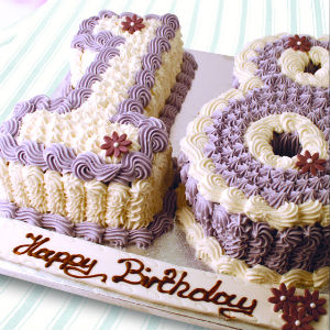 Number Cakes Double Numbers Thunders Bakery