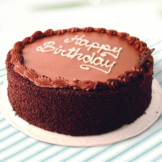 Chocolate Birthday Cake Cropped (1)