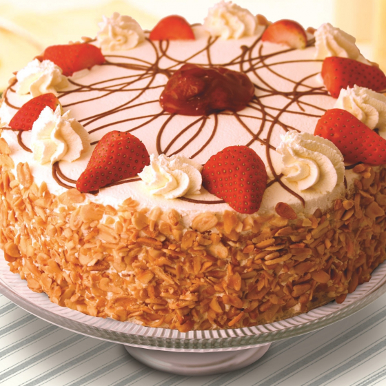 Strawberry Gateaux (Copy) Cropped Cropped
