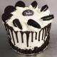 Tall Oreo Drip Cake