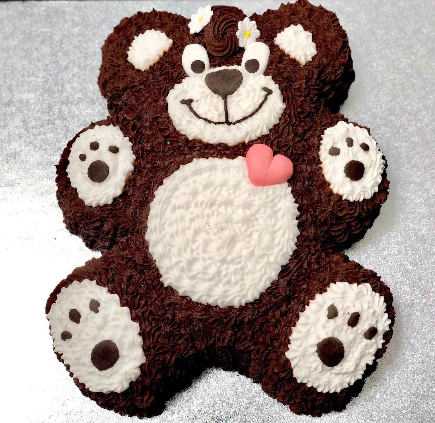 Excellent Teddy Bear Cake Thunders Bakery Funny Birthday Cards Online Barepcheapnameinfo