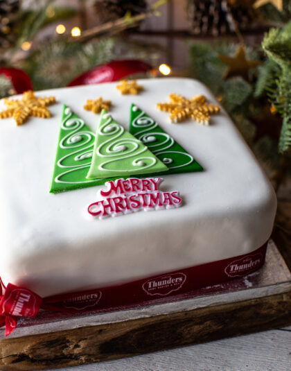 Traditional Christmas Rich Fruit cake