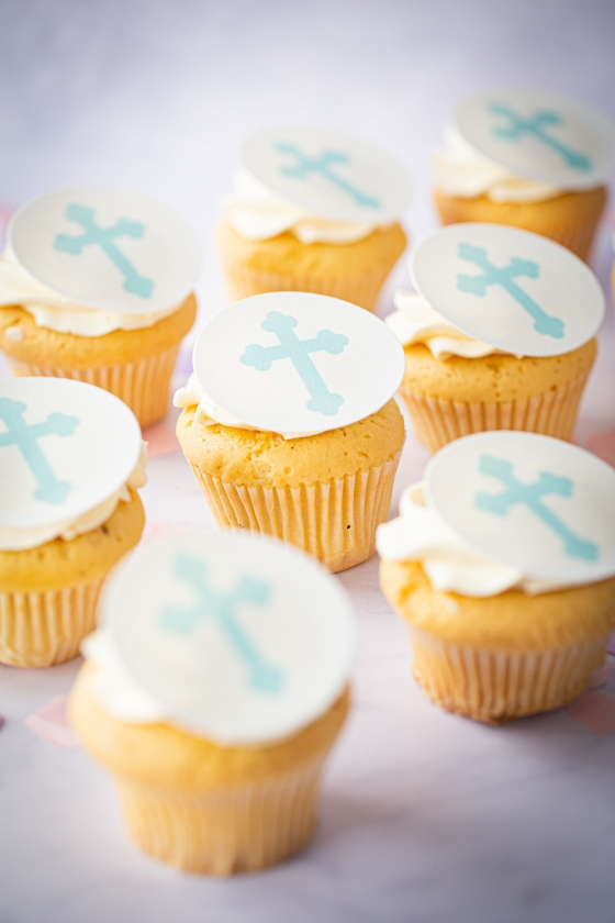 Thunders Confirmation Cupcakes
