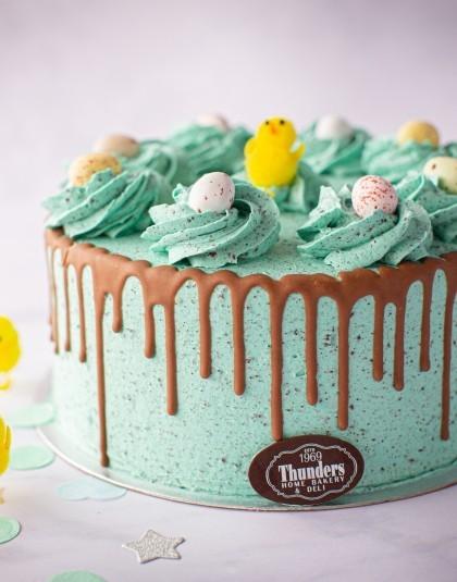 Easter Oreo Drip Cake