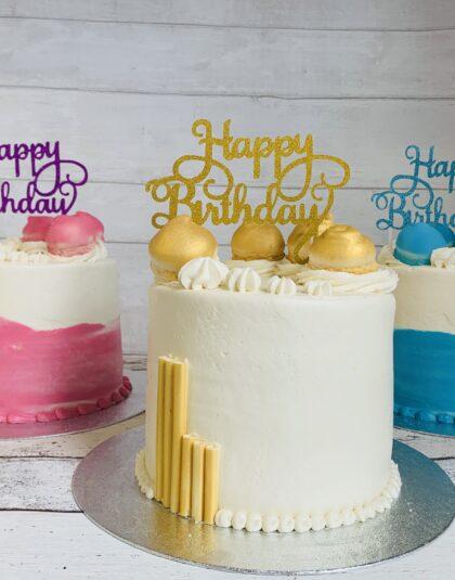 Thunders 'Fun Size' Cakes