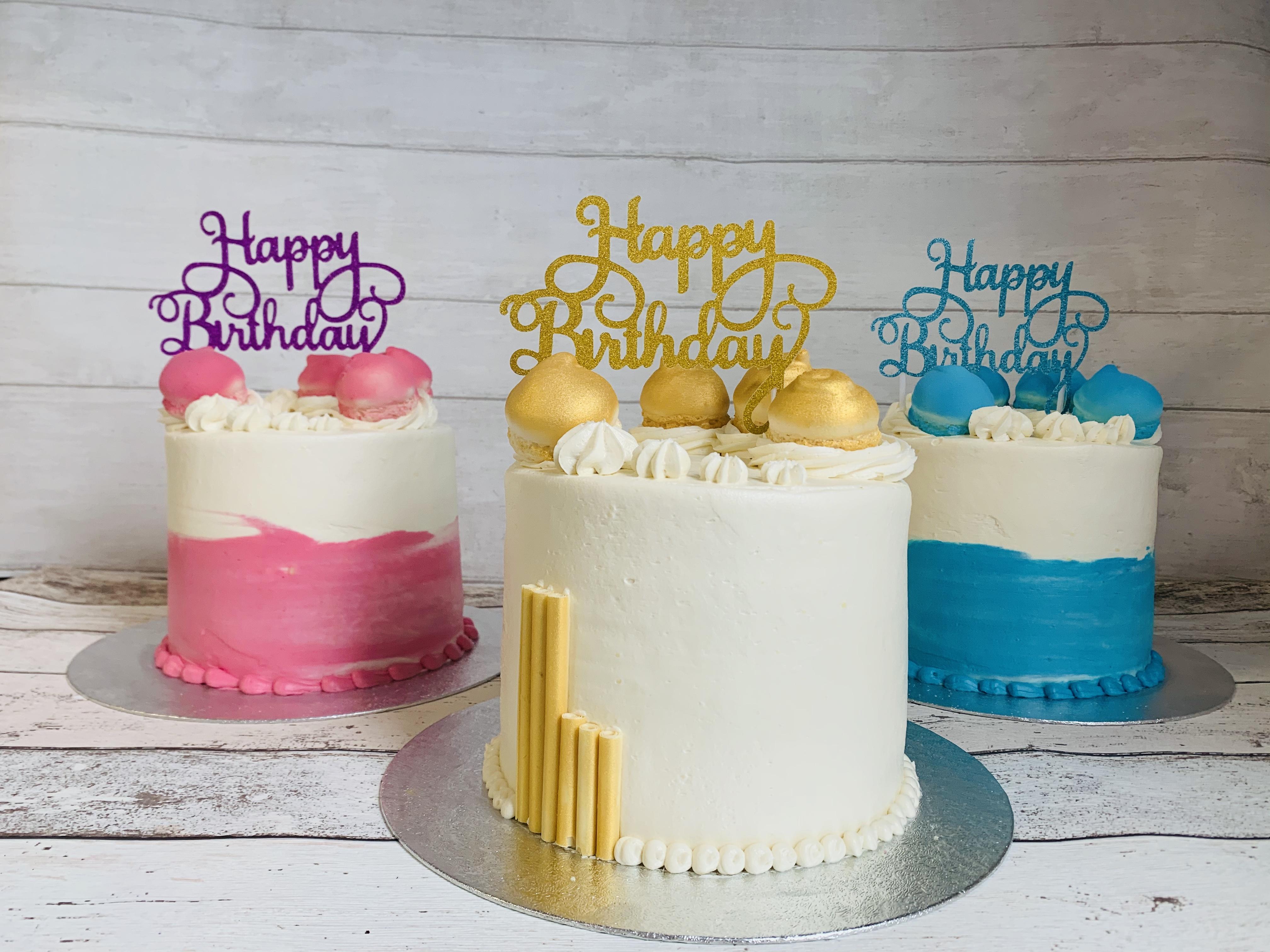 Thunders Funsize Cake Range for smaller Party's
