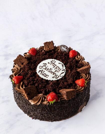 Thunders Chocolate Fudge cake