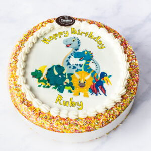 Thunders Funtime Sprinkles Picutre Cake
