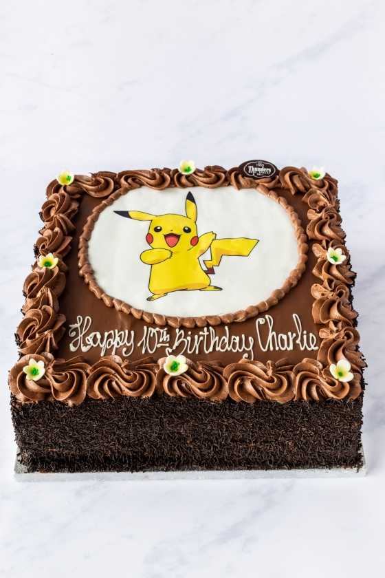 Thunders 'Par-tay' Picture Cake