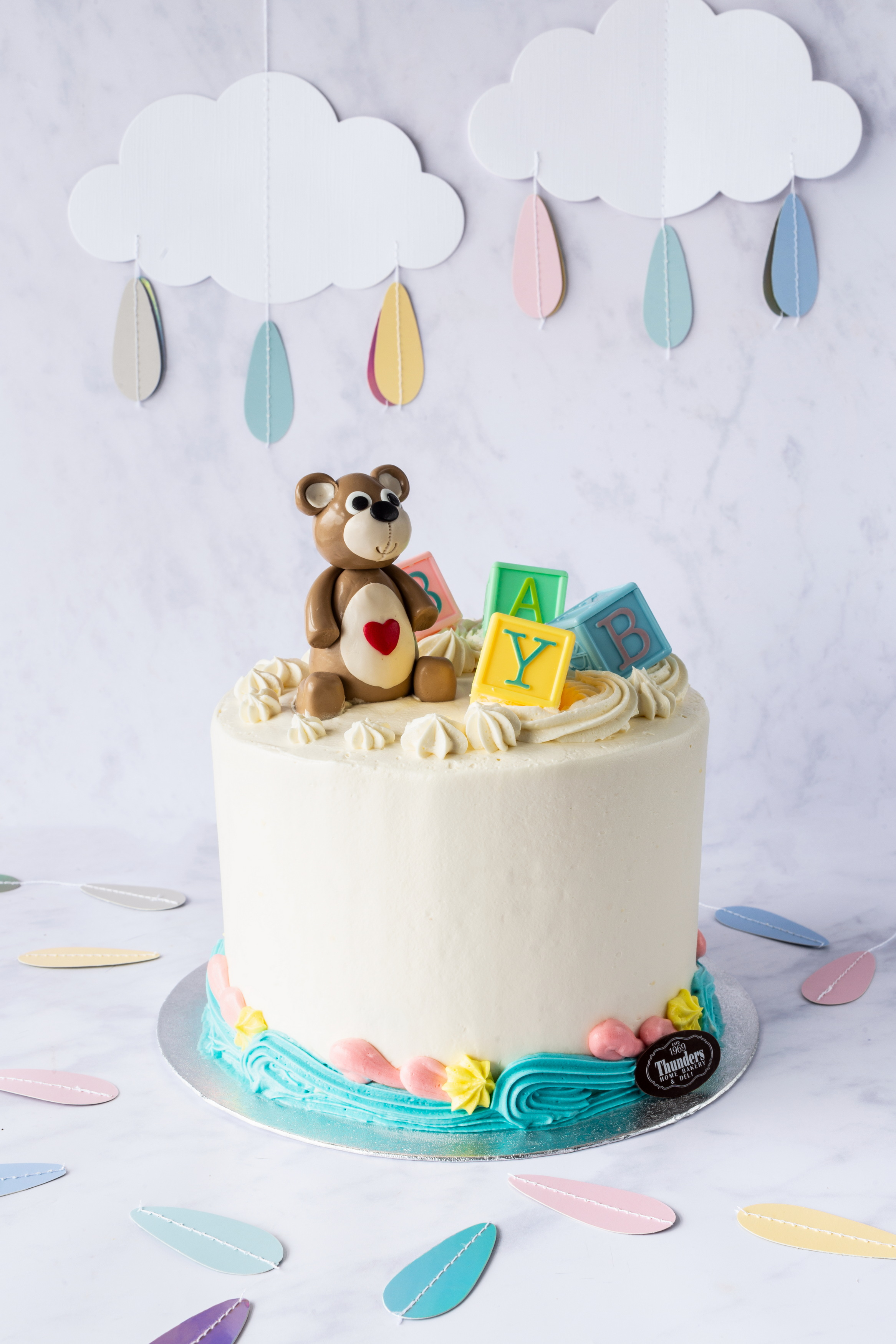 Thunders Baby Shower Cake