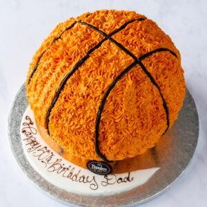 Thunders Novelty Sports Birthday Cake