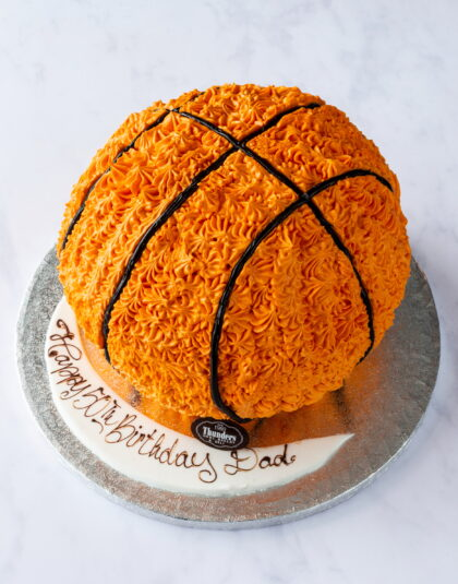 Thunders Novelty Sports Birthday Cake