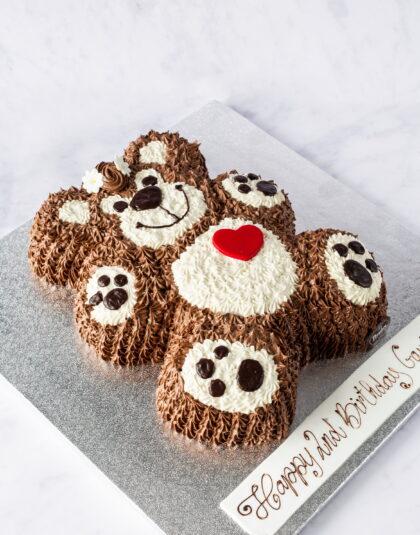 Thunders Teddy Bear Cake