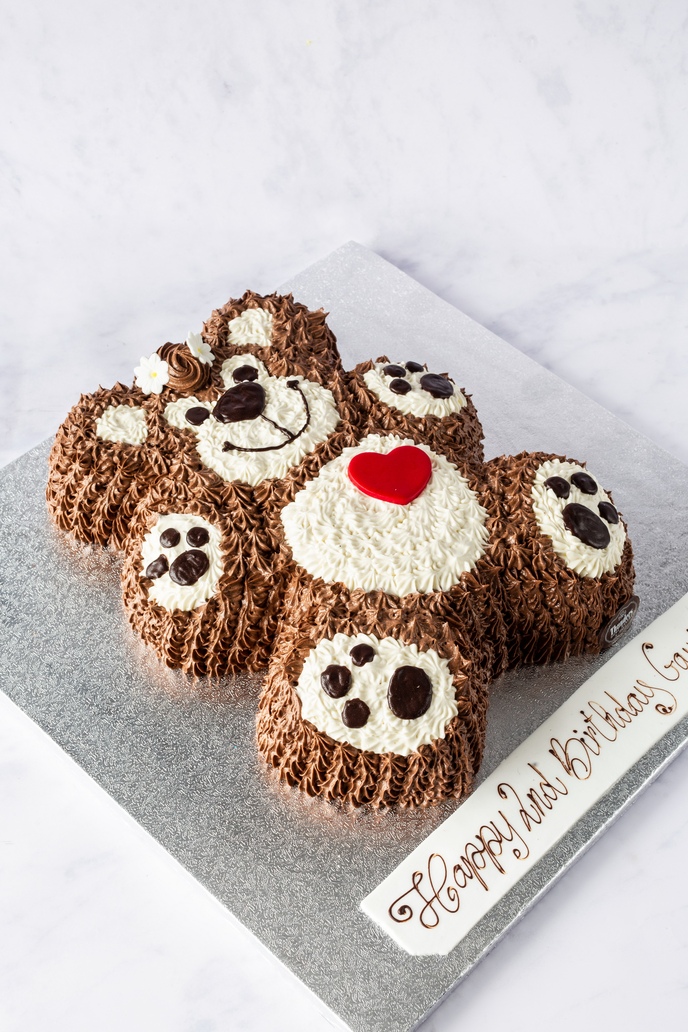 Thunders Teddy Bear Cake