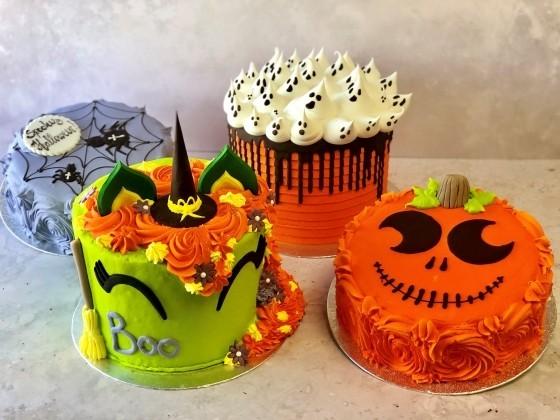 Thunders Bakery Halloween Cakes