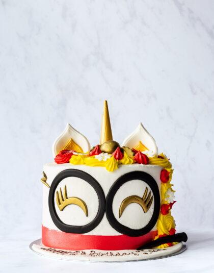 Thunders Novelty Custom Birthday Cake