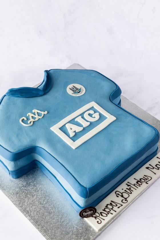 Thunders Novelty Sports Custom Birthday Cake
