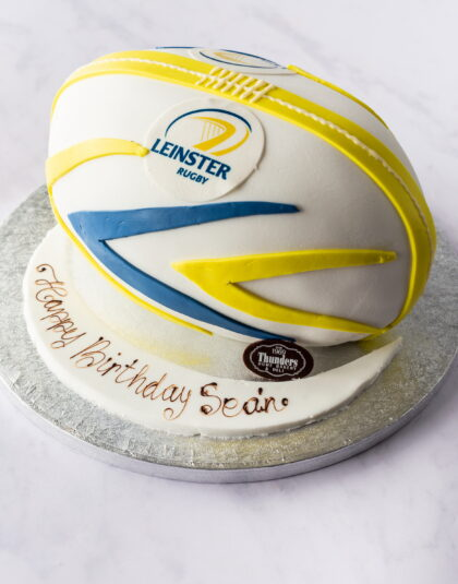 Thunders Novelty Rugby Birthday Cake