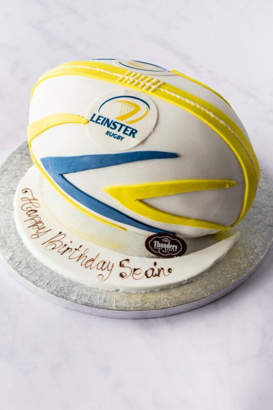 Thunders Novelty Rugby Birthday Cake