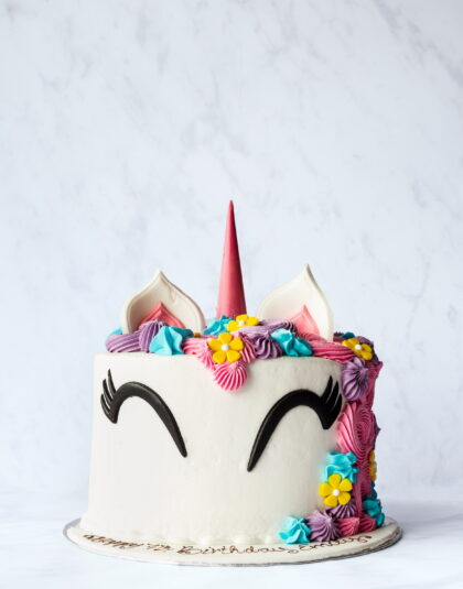 Thunders Novelty Unicorn Birthday Cake