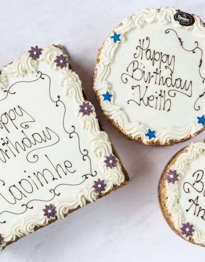 Thunders Bakery Buttercream Cakes