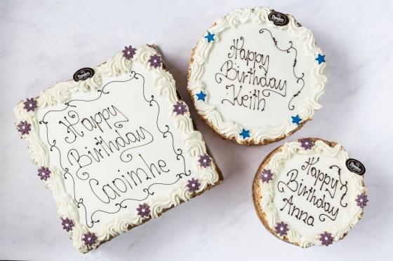 Thunders Vanilla Buttercream Cake