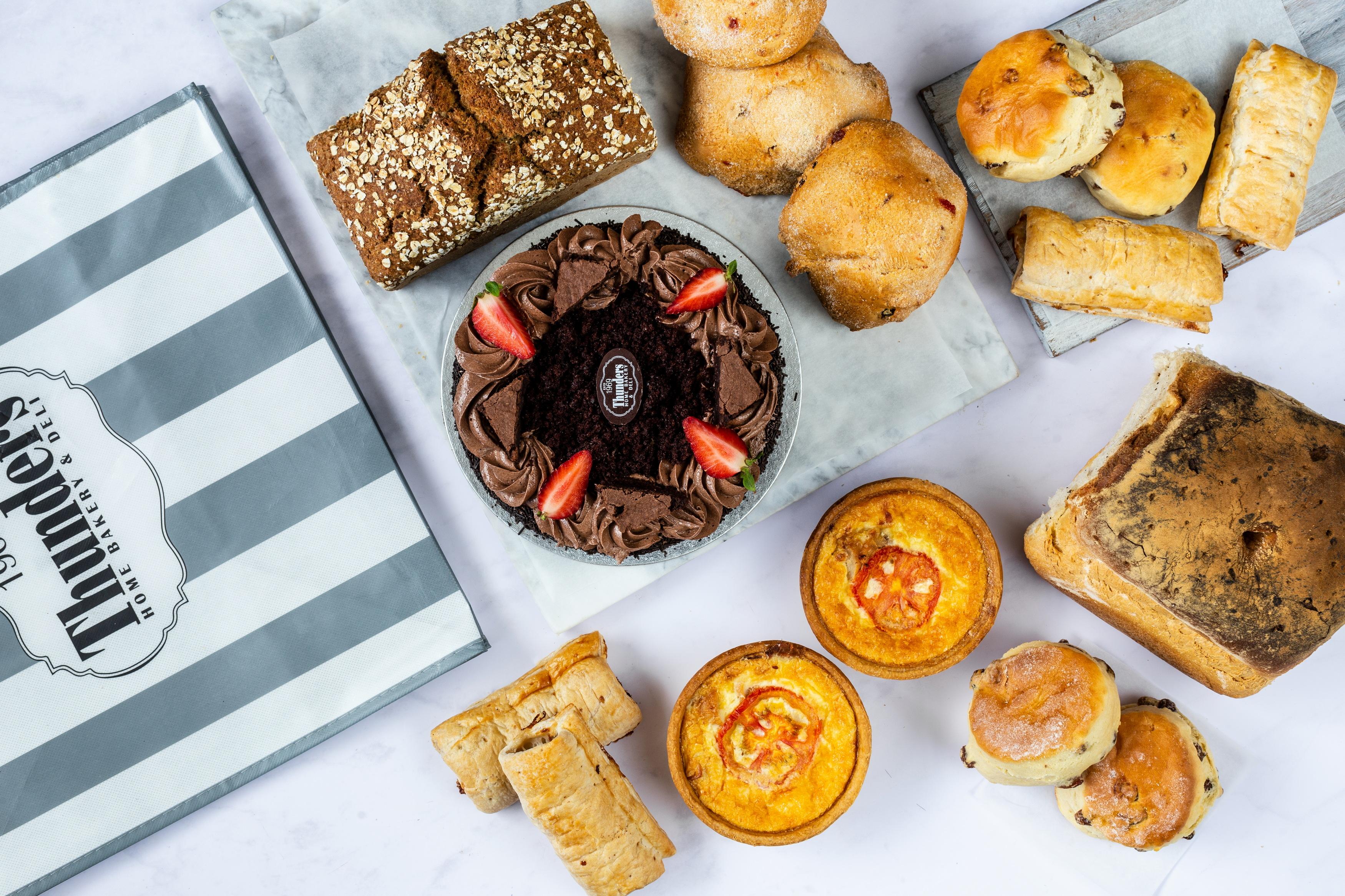 Thunders Fresh Bread Cake Scones