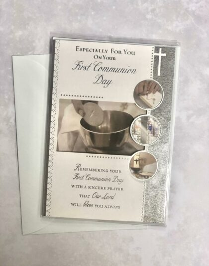 First Holy Communion Day Card