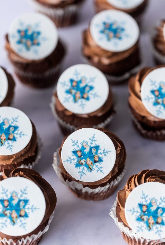 Thunders Themed Cupcakes