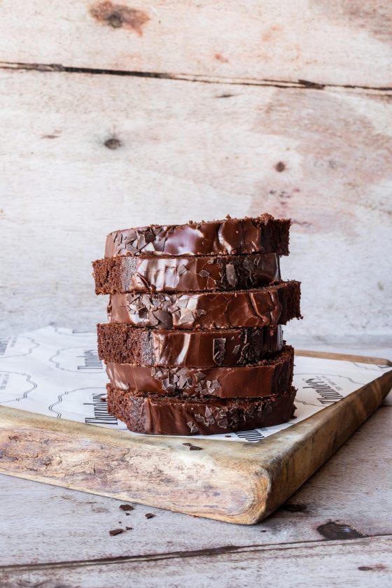 Thunders Gluten Free Chocolate Fudge Loaf Cake