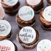 Chocolate Mother's Day Cupcakes