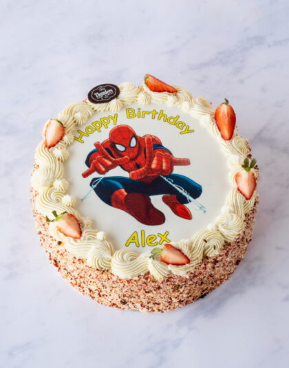 Thunders 'Swirly' Picture Cake