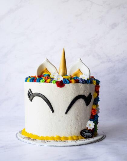 Thunders Unicorn Cake