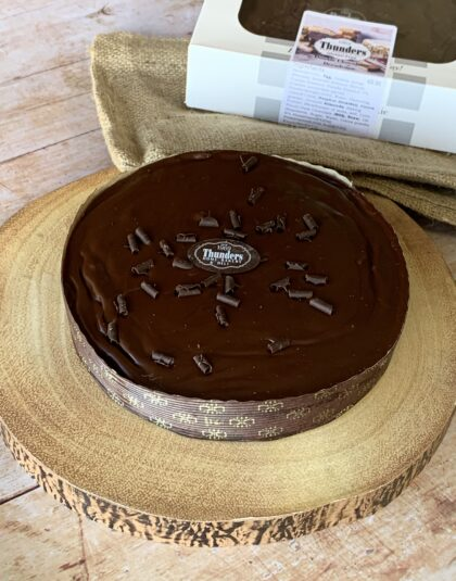 DOUBLE CHOCOLATE DECADENCE TART
