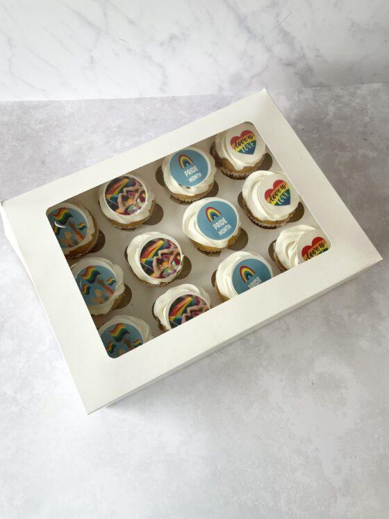 Thunders Pride cupcakes